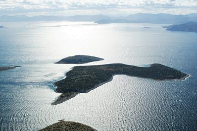 Greek private Island for sale.