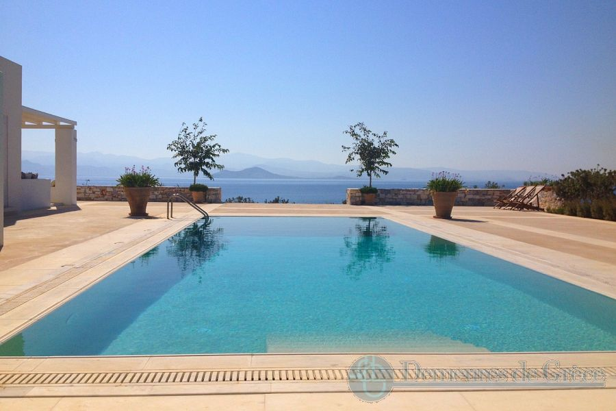 Waterfront villa for sale on Paros island, Greece