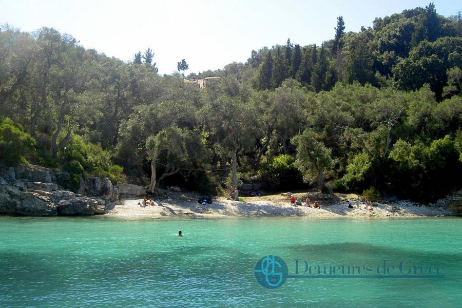 Beachfront plot of land for sale in Paxos, Greece