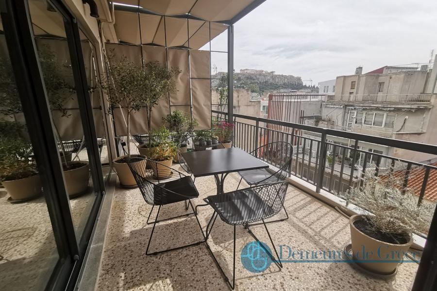 penthouse apartment for sale in Athens, Acropolis view